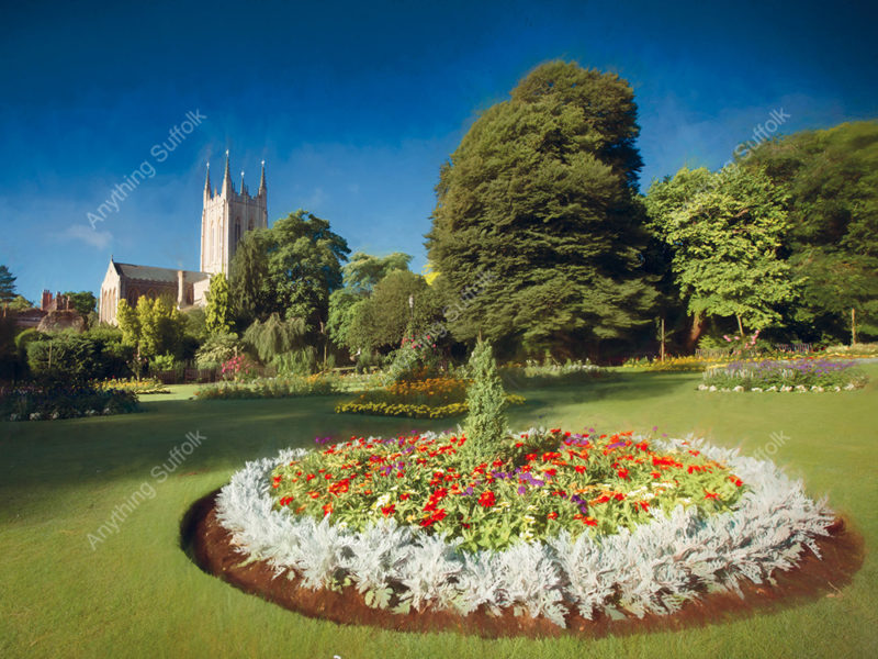 St Edmundsbury Cathedral, Bury St Edmunds by Steve Stoddart