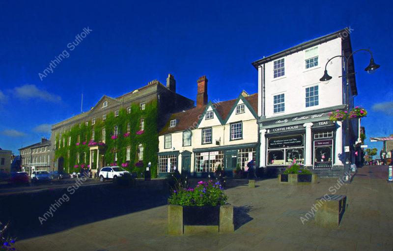 Angel Hill, Bury St Edmunds by Steve Stoddart