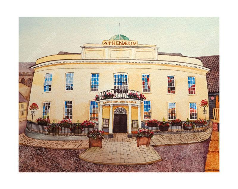 Athenaeum, Bury St Edmunds by Kim Whittingham