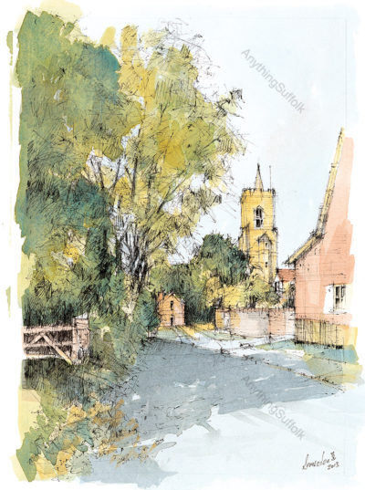 Bardwell, Suffolk by David Smeaden