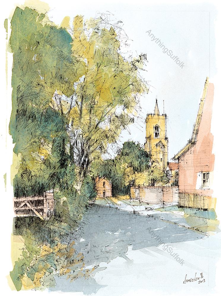 Bardwell, Suffolk by David Smeaden