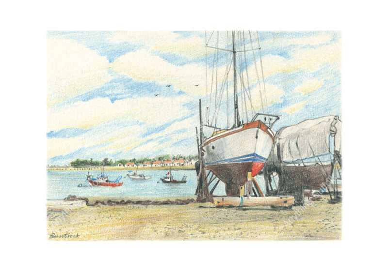 Bawdsey Ferry, Felixstowe by Malcolm Buntrock