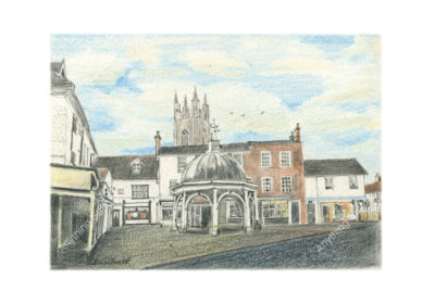 Butter Cross, Bungay by Malcolm Buntrock