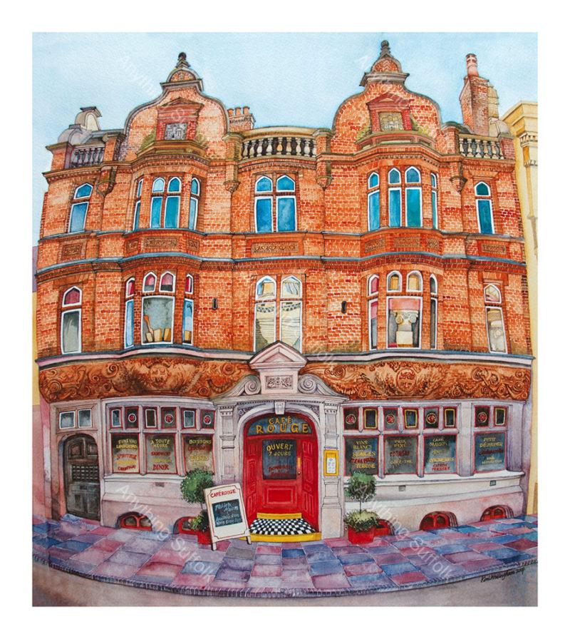 Café Rouge, Bury St Edmunds by Kim Whittingham