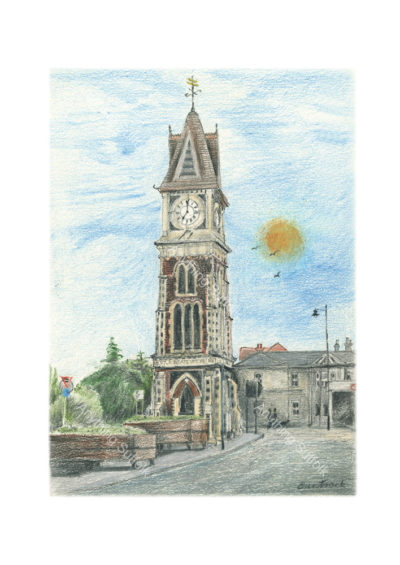 Clock Tower, Newmarket by Malcolm Buntrock
