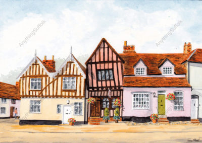 Crooked House, Lavenham by Irene Hart