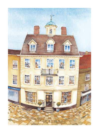 Cupola House, Bury St Edmunds by Kim Whittingham