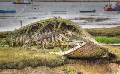 Deben shoreline by Frank Hendre