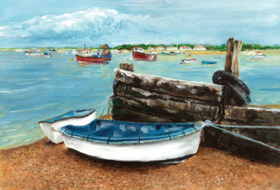 Old Felixstowe Ferry by Sue Stroud
