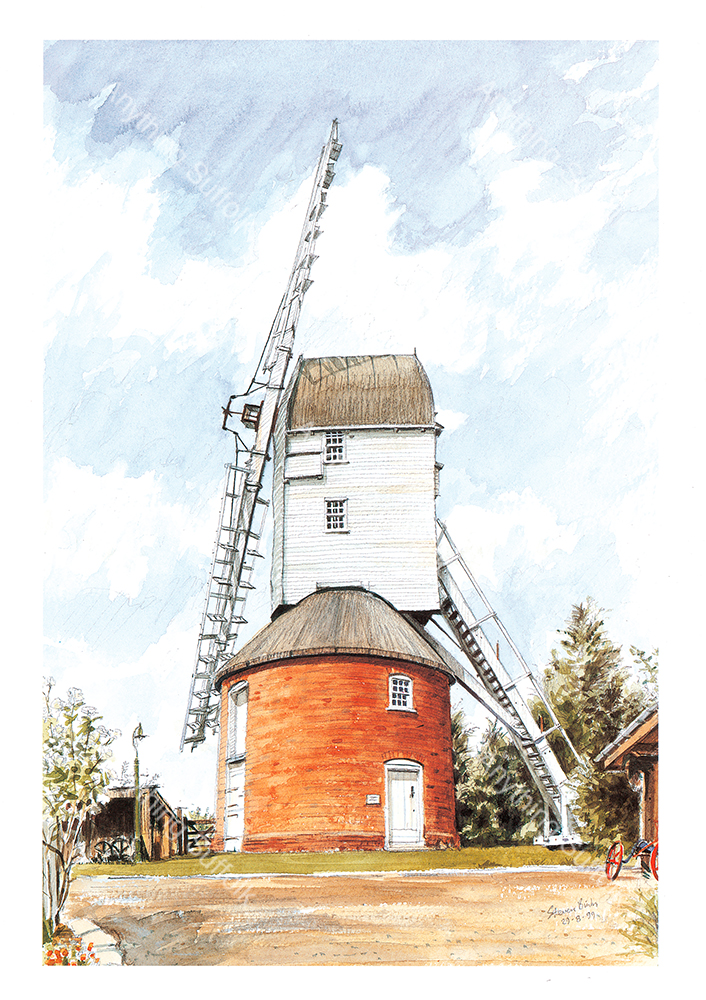 Framsden Mill by Steven Binks