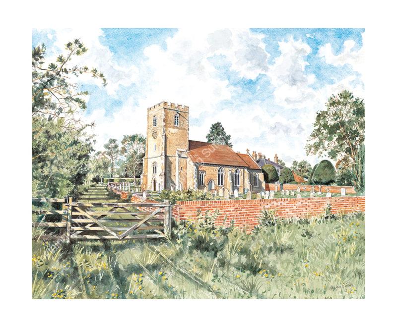 Higham Church by Steven Binks