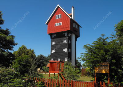 House in the Clouds at Thorpeness by Hazel Calver