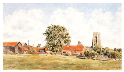 Lavenham Hall Farm by Steven Binks
