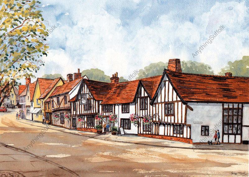 Lavenham, Suffolk by Irene Hart