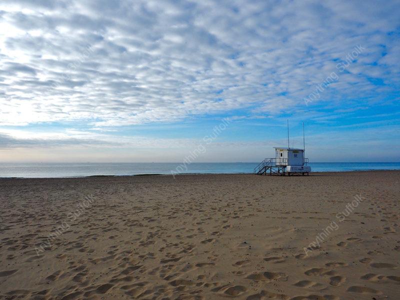 Lowestoft Beach by Sue Stroud