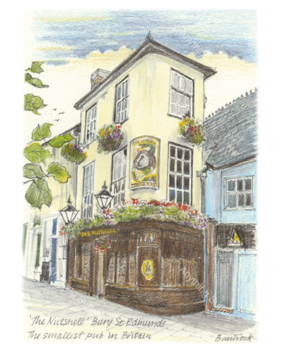 The Nutshell, Bury St Edmunds by Malcolm Buntrock