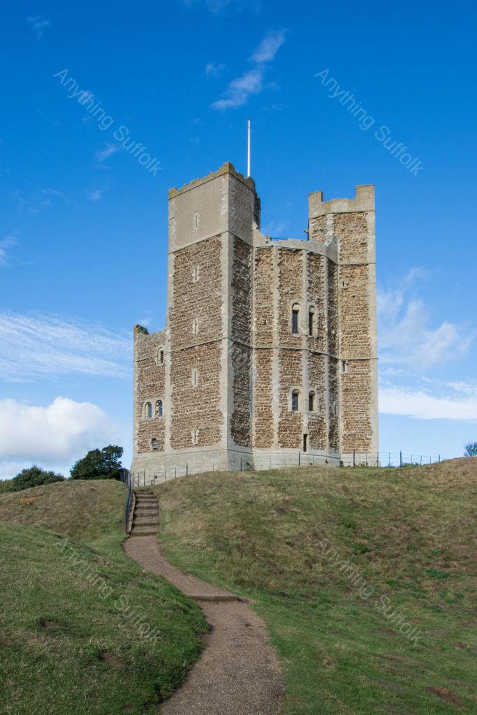 Orford Castle by Kevin Wailes