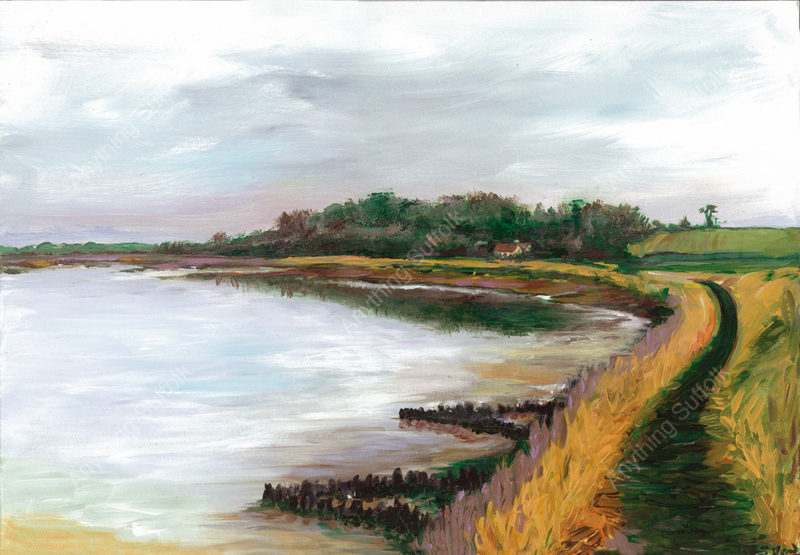 Ramsholt by Sue Stroud