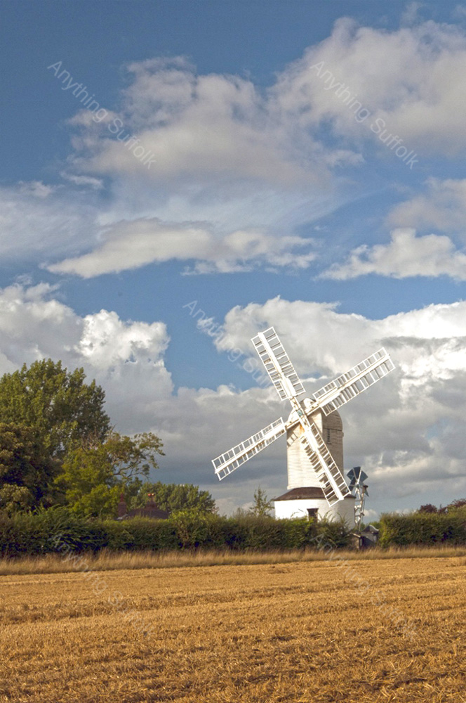 Saxtead Mill by Kevin Wailes
