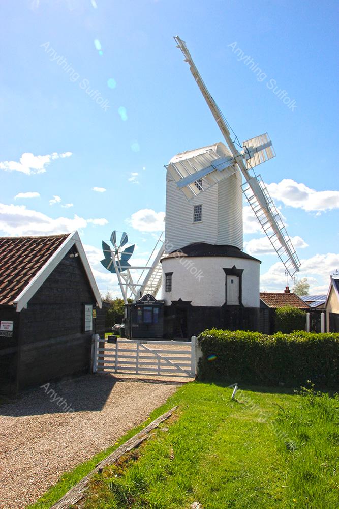 Saxtead Mill by David Mayhew