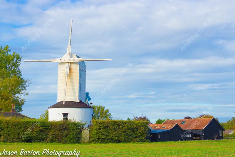 Saxtead Mill by Jason Barton
