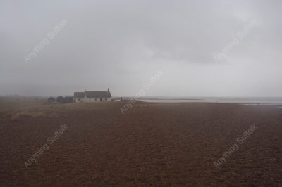 Shingle Street in Winter by Sue Stroud