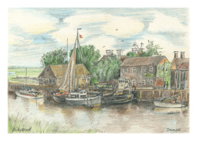 Snape Quay by Malcolm Buntrock