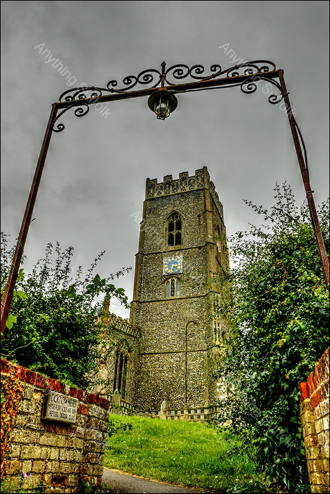 St Mary's Church, Kersey by Steve Thomson