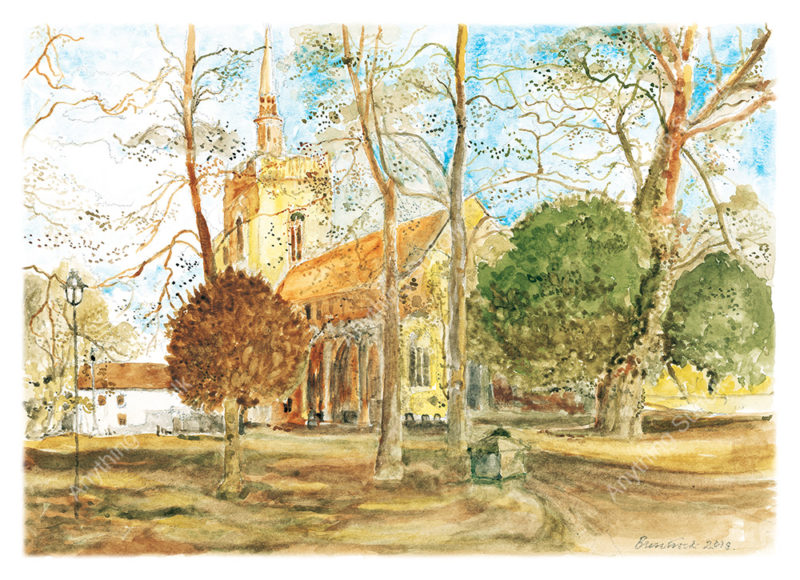 St Peter's & St Mary's Church, Stowmarket by Malcolm Buntrock