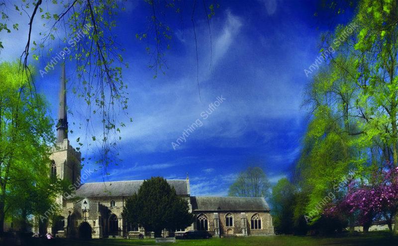 Stowmarket Parish Church by Steve Stoddart