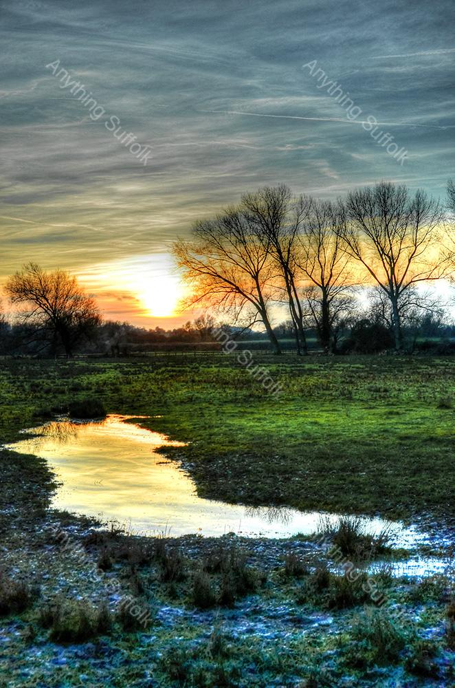 The Water Meadows, Sudbury by Steve Thomson