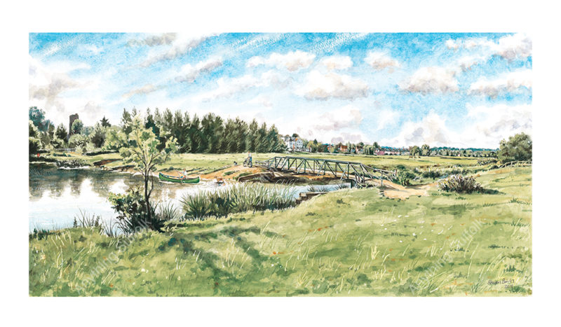 Sudbury Watermeadows by Steven Binks