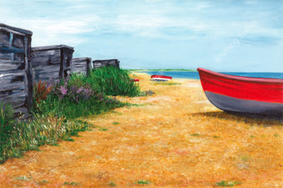 Summer Day, Dunwich by Sue Stroud