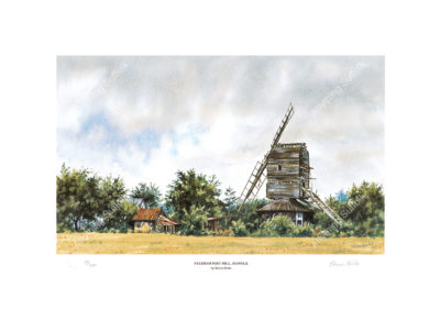 Syleham Post Mill by Steven Binks