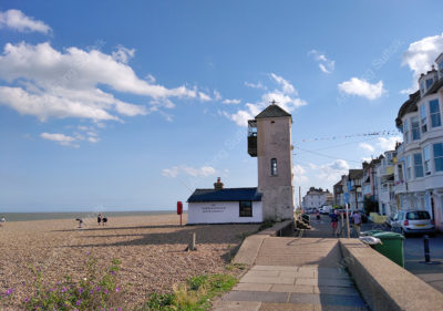 Lookout Tower, Aldeburgh by Hazel Calver