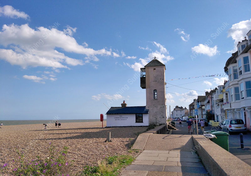 Lookout Tower, Aldeburgh by Hazel Calver