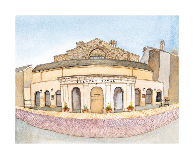 Theatre Royal, Bury St Edmunds by Kim Whittingham