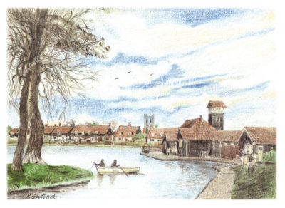 Thorpeness Mere by Malcolm Buntrock