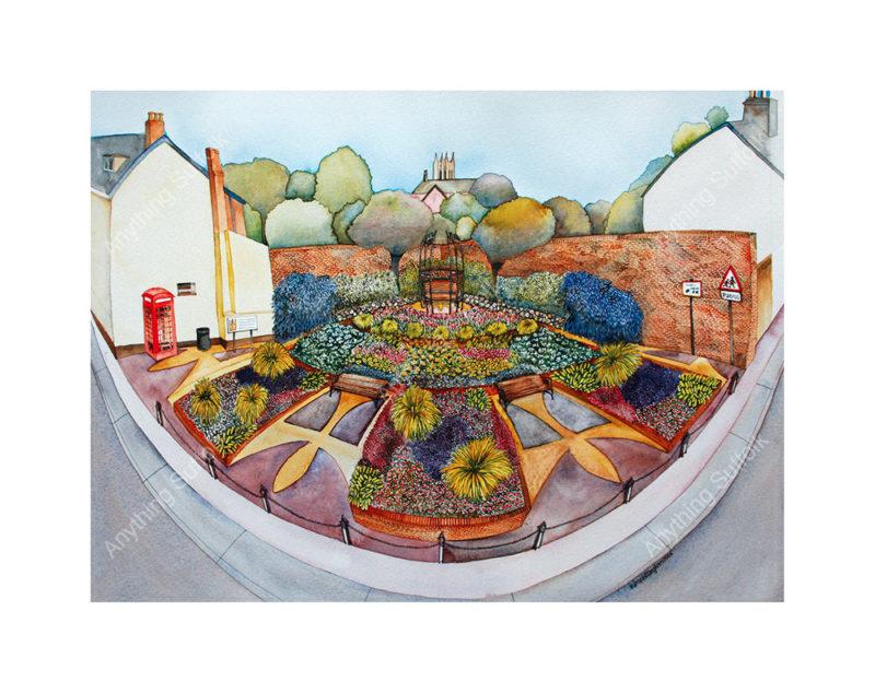 Westgate, Bury St Edmunds by Kim Whittingham