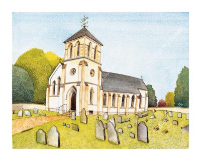 Westley Church by Kim Whittingham