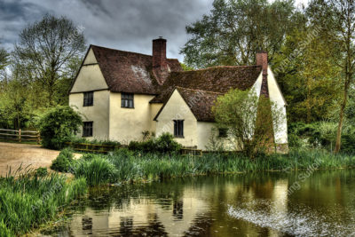 Willy Lott's Cottage, Flatford by Steve Thomson