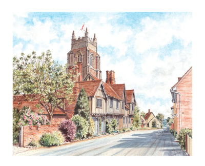 Stoke by Nayland Church by Steven Binks