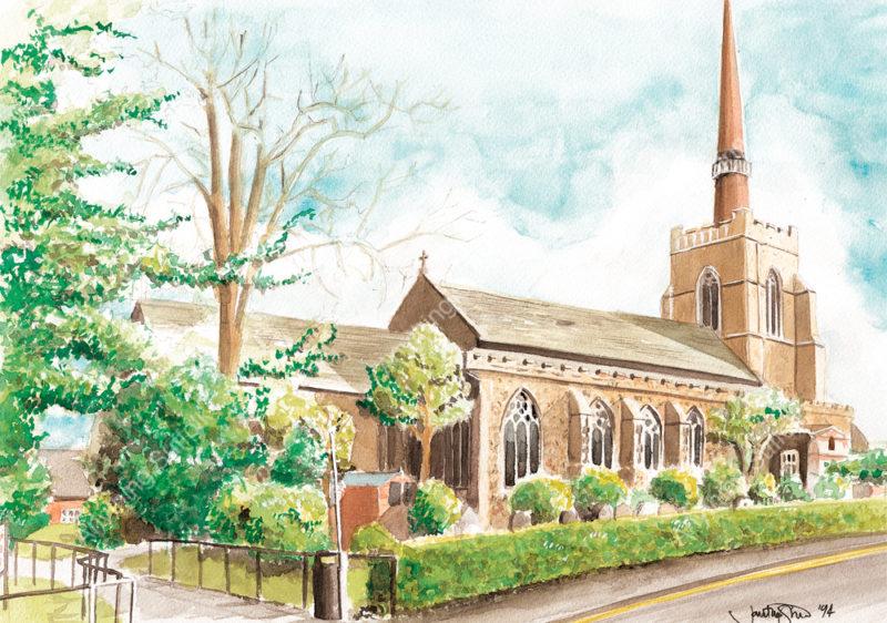 Stowmarket Parish Church by Jonathan Steed