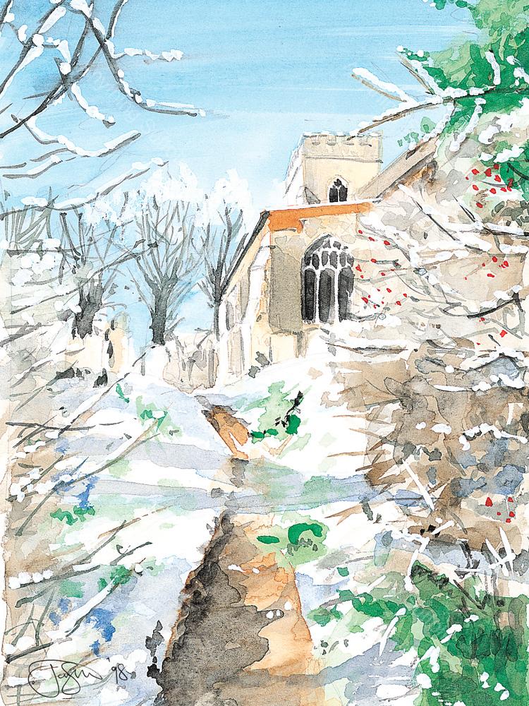 Wetherden Parish Church by Jonathan Steed