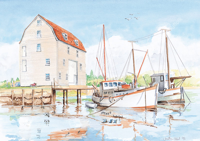 Woodbridge Tide Mill by Jonathan Steed