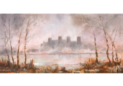 Framlingham Castle by Carrol Sadler