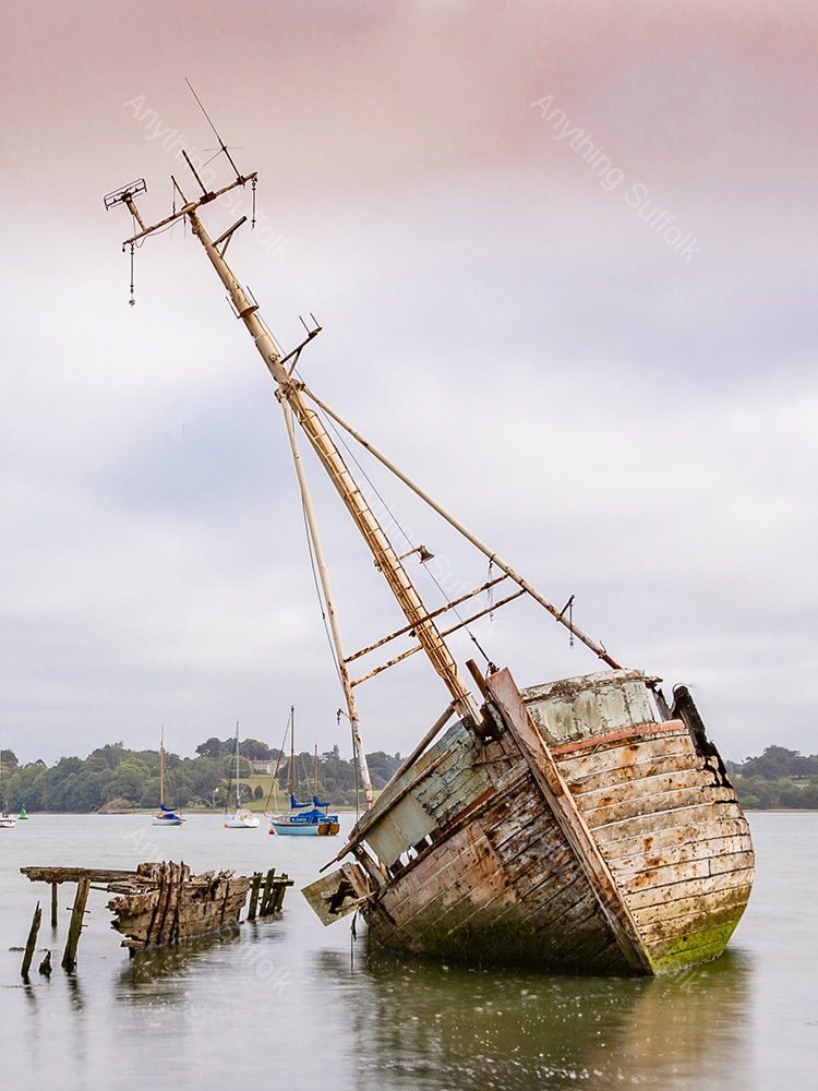 List to Starboard, Pin Mill by James Langlois