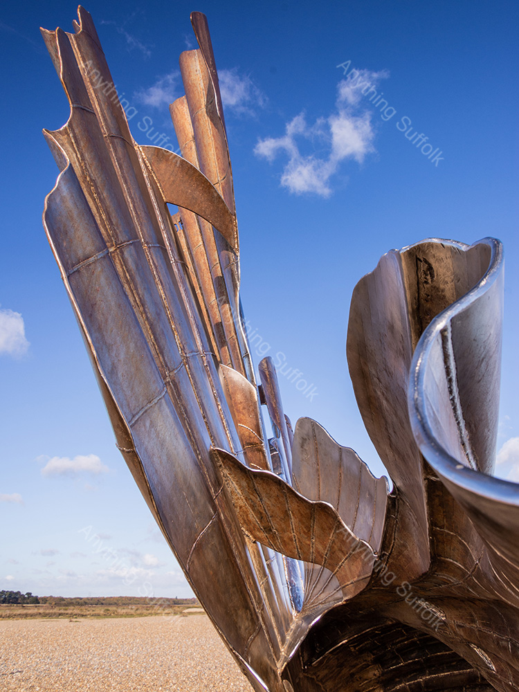 The Scallop, Aldeburgh by James Langlois