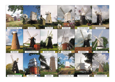 Suffollk Windmills by Steven Binks