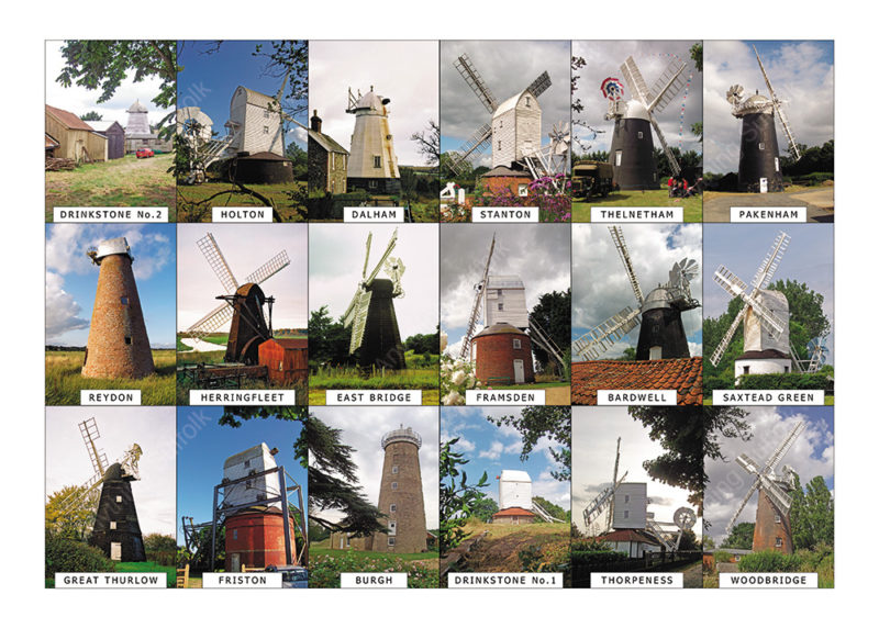 Suffollk Windmills by Steven Binks